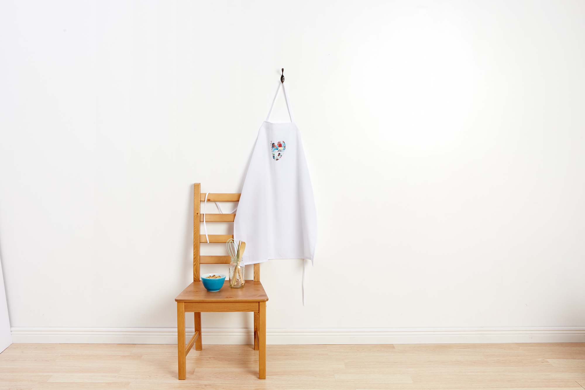 New product: Celebrate your dad's culinary gifts with a custom photo apron