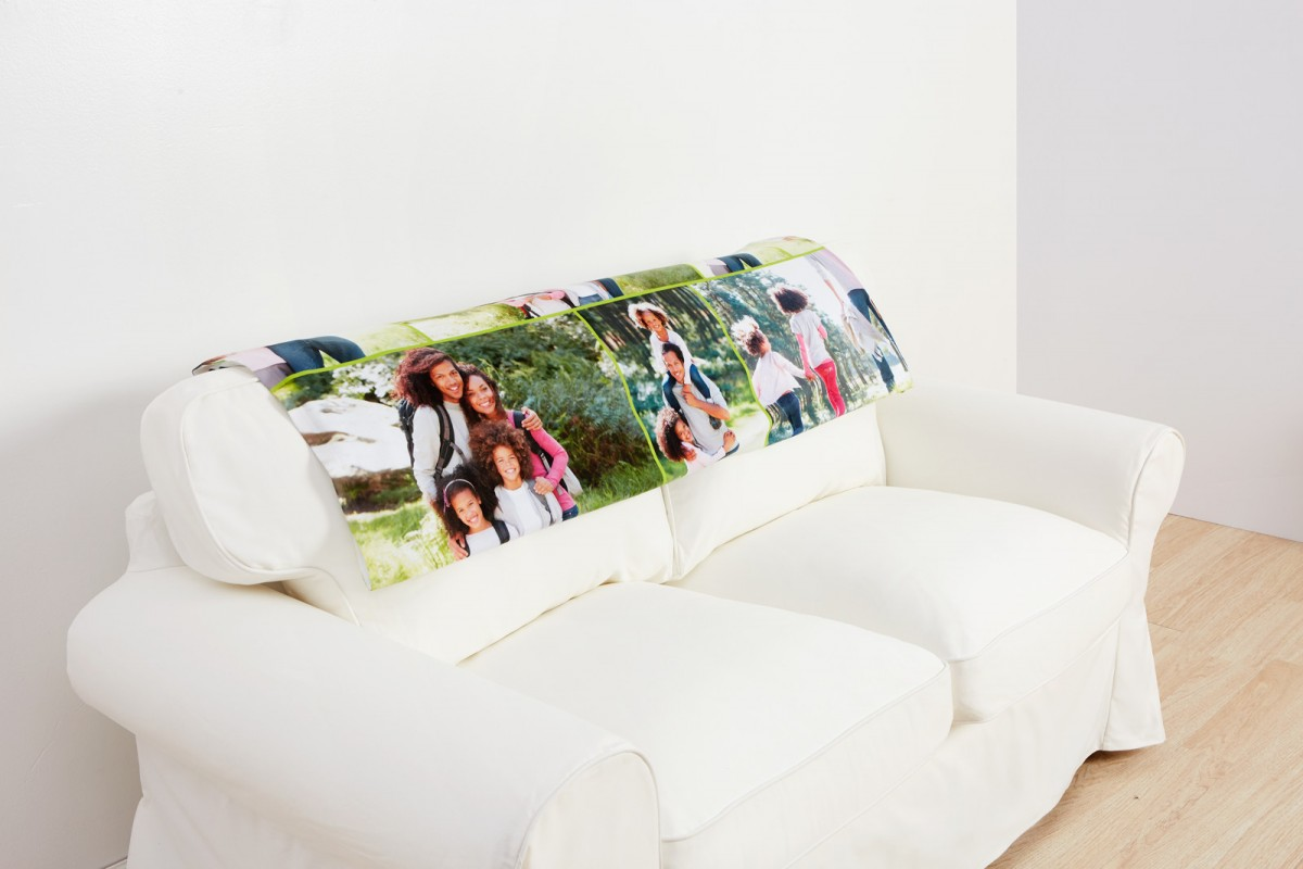 Collage.com fleece photo blanket