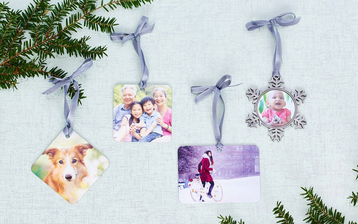 Collage.com custom ornaments