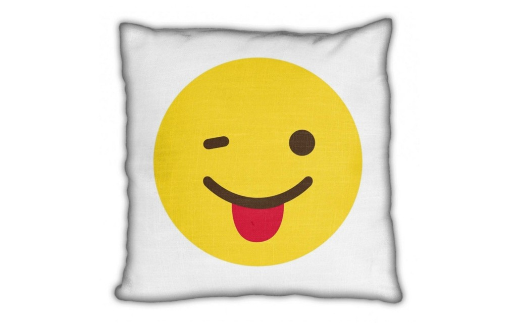 Smiley pillow 2