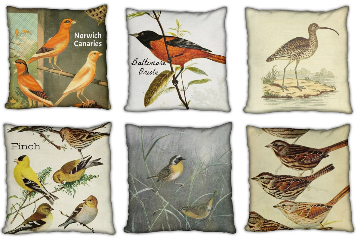 Pillows for the birds.