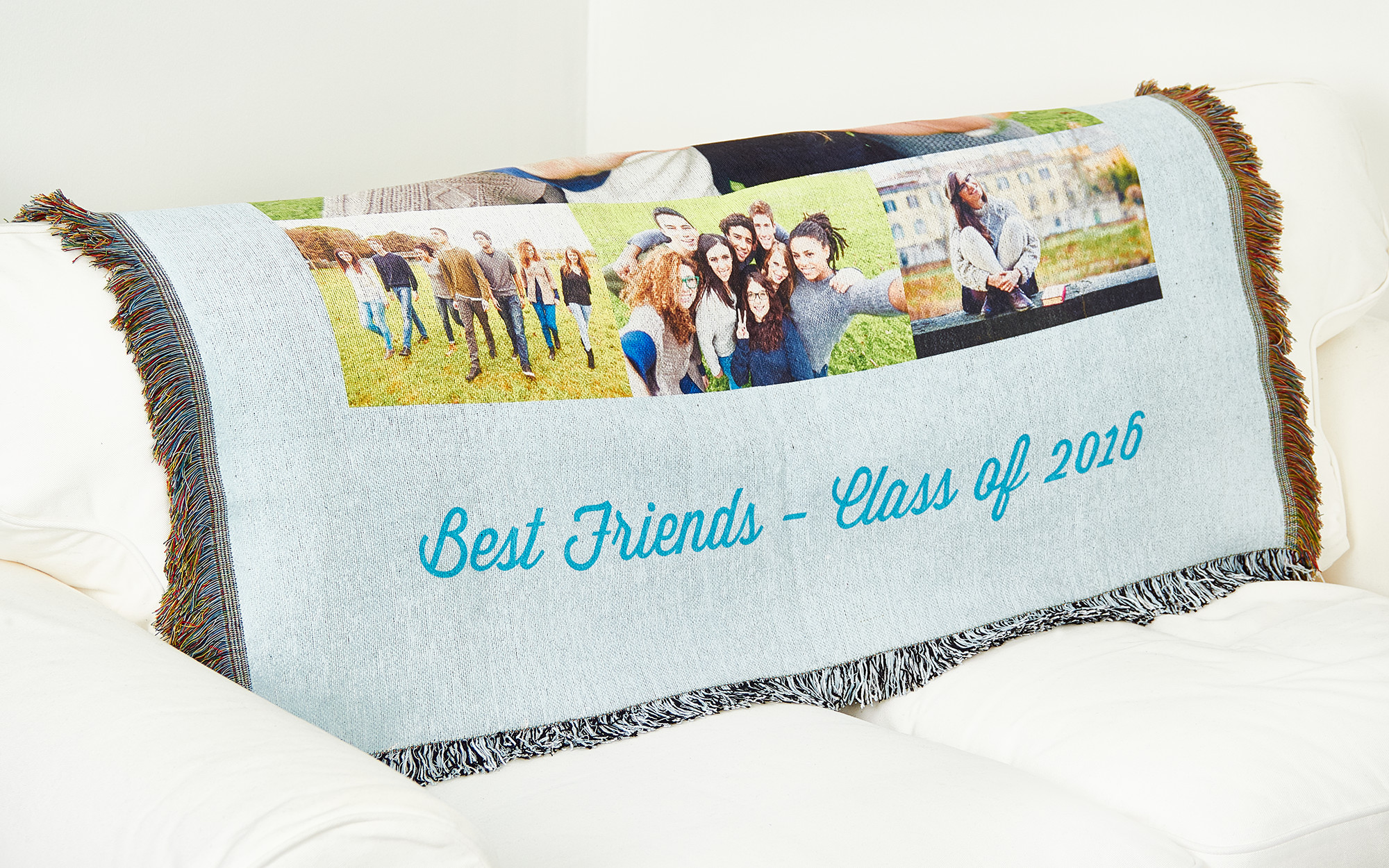 Class of 2016 woven blanket