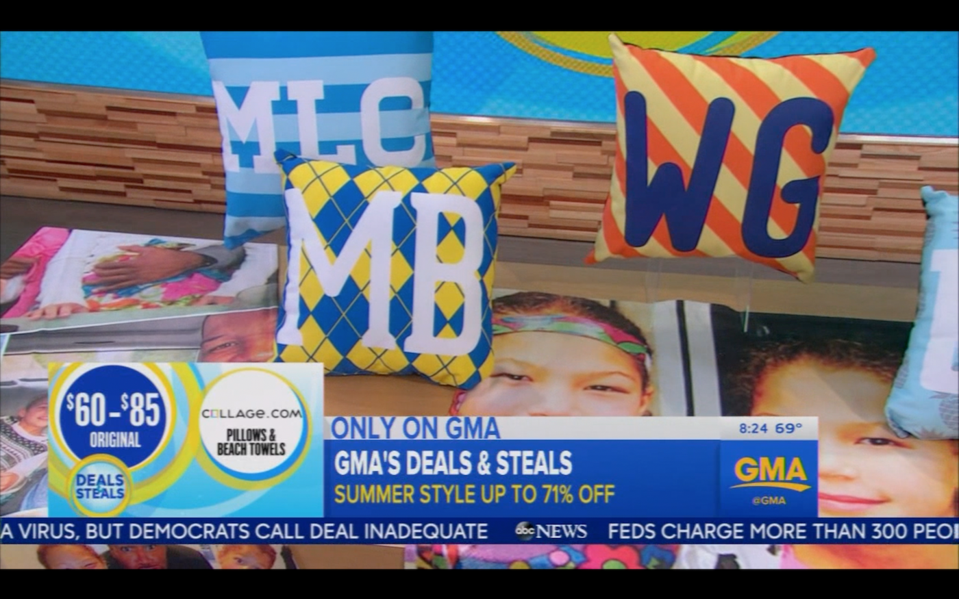 Collage.com on Good Morning America