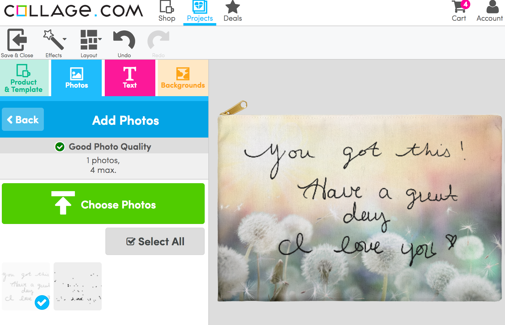 Let Collage.com give your letters new life this Valentine's Day