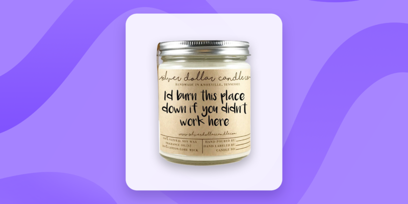 Candles - Gifts for your assistant