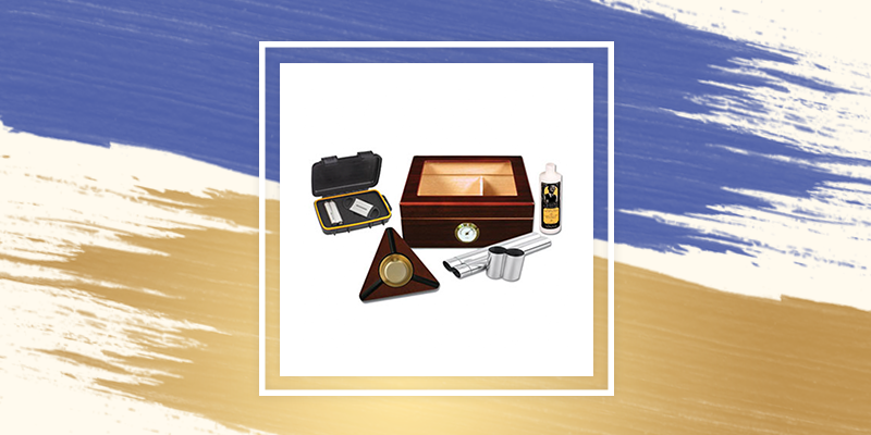Humidor Gift Set for your father in law's retirement