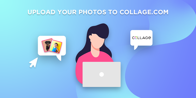 upload your photos to collage