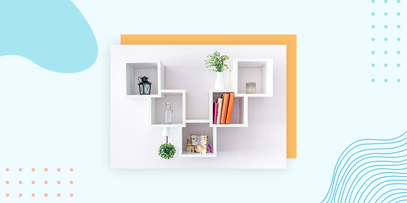 Utilize Shelving Options