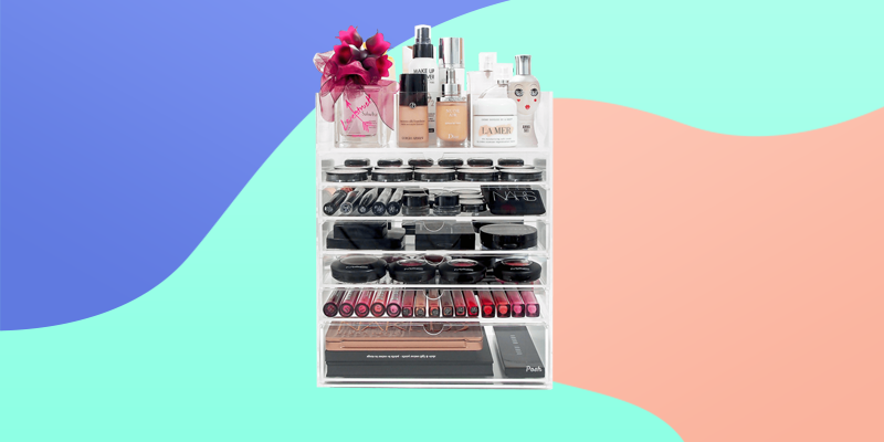 Organize skincare essentials with this skincare organizer