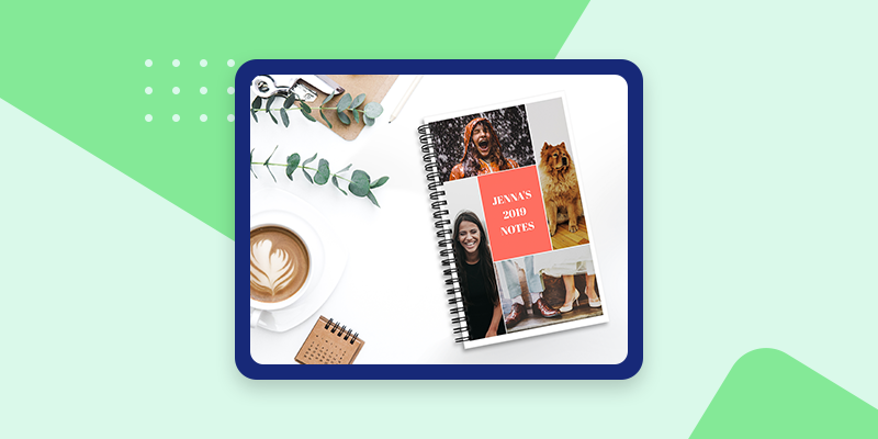 Collage.com Photo Notebooks (Sentimental Gifts for Coworkers)