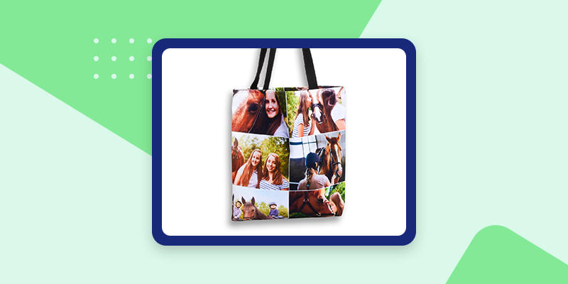 Collage.com Photo Tote Bags (Sentimental Gifts for Coworkers)