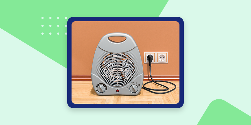 Cubicle Space Heater (Unique Office Gifts)