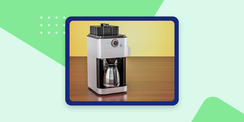 Desktop Coffee Maker  (Quick and Easy)
