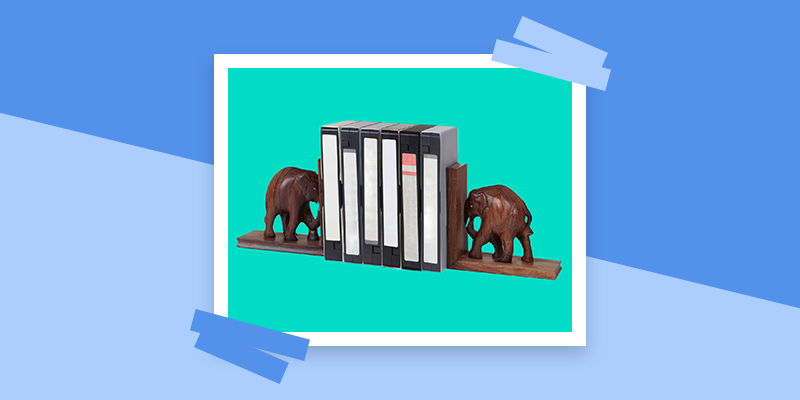 Eye-Catching Bookends