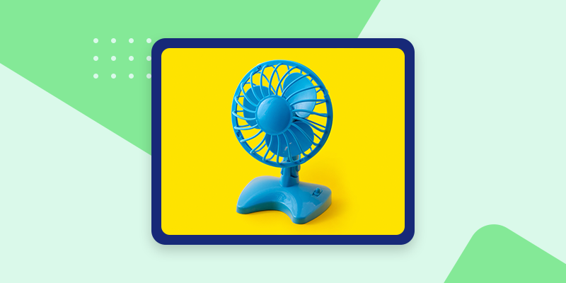 Personal Air Circulator Fan (Unique Office Gifts)