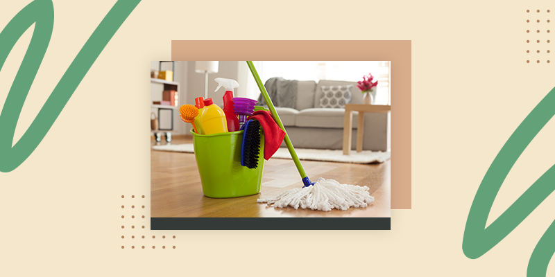 Clean the House (Welcome Home Gifts for Traveling)