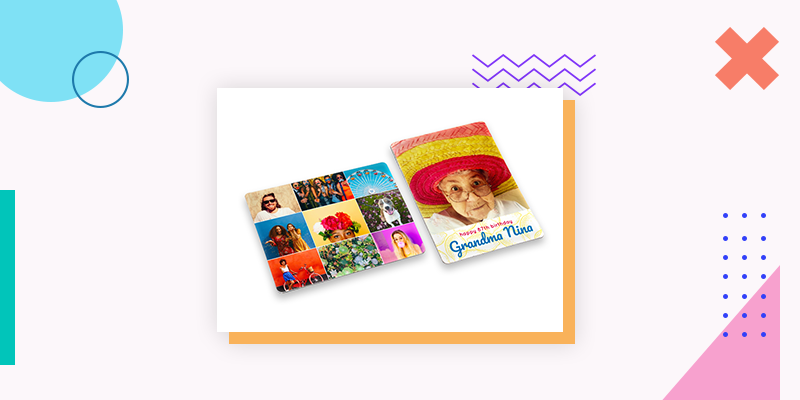 Collage.com Custom Photo Magnets (Personalized Family Reunion Gift)