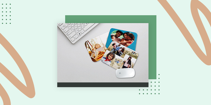 Collage.com Custom Photo Mousepad (Personalized Family Reunion Gift Bag Ideas)
