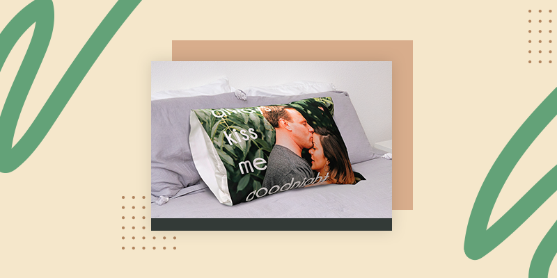 Collage.com Custom Photo Pillowcases (Personalized Welcome Home Gifts for Him)
