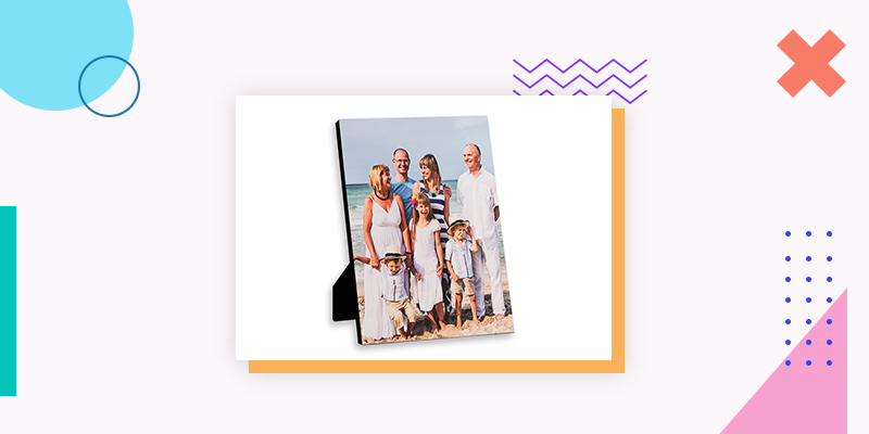 Collage.com Custom Photo Plaques (Personalized Family Reunion Gift)