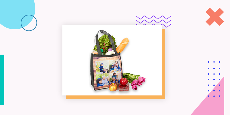 Collage.com Grocery Bags (Personalized Family Reunion Gift)