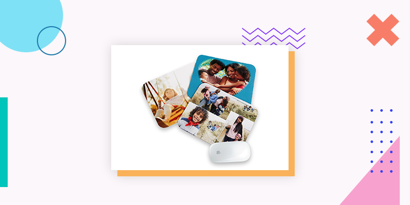 Collage.com Photo Mousepads (Personalized Family Reunion Gift)