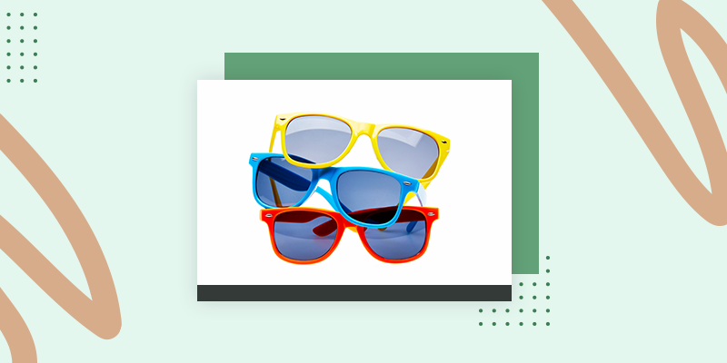 Colorful Sunglasses (Fun Family Reunion Gift Bag Ideas)