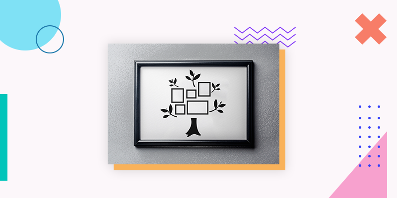 Framed Family Tree (Unique Family Reunion Gift Ideas)