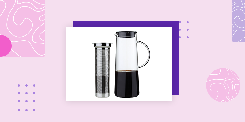 Kuchenprofi Hot & Cold Brew Infuser (Practical Housewarming Gifts)