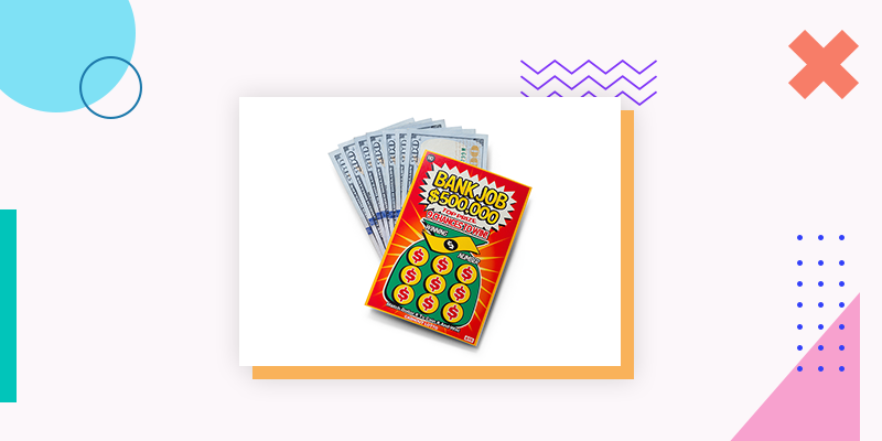 Scratch-off Lotto Tickets (Last Minute Family Reunion Gift Ideas)