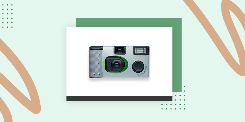 Single-Use Disposable Cameras (Fun Family Reunion Gift Bag Ideas)
