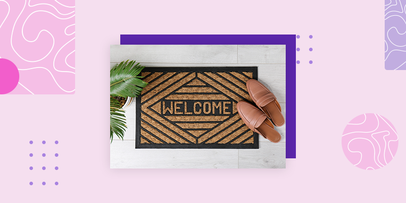 Uncommon Goods Doormat (Personalized Housewarming Gifts for Someone Who Has Everything)