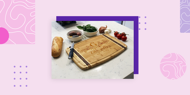Wayfair Personalized Cutting Board (Personalized Housewarming Gifts for Someone Who Has Everything)