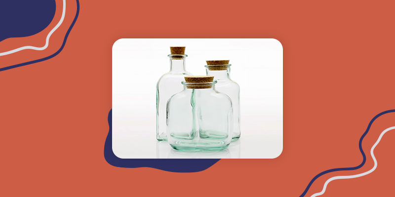 Clear Apothecary Jars