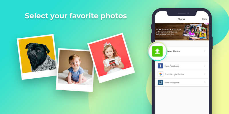Select your favorite photos