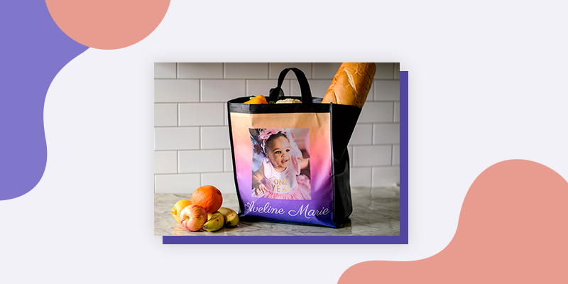Collage.com Grocery Bags