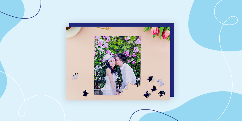 Collage Custom Photo Puzzles