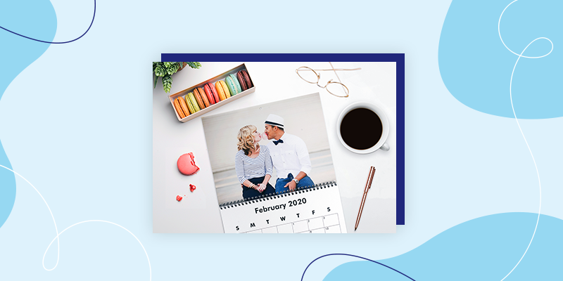 Collage Custom Photo Calendars