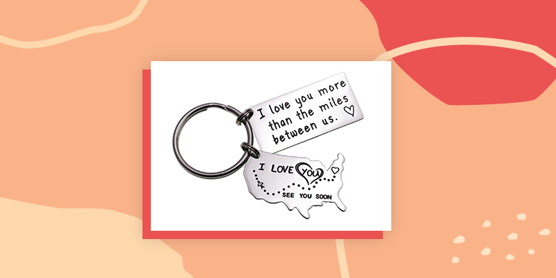 Long Distance Key Chain