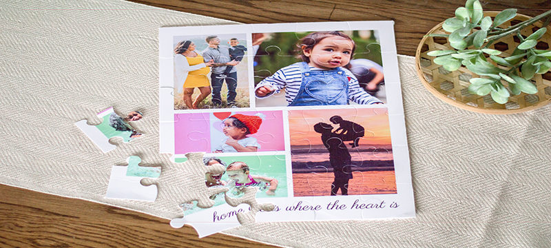 How to Make a Photo Puzzle
