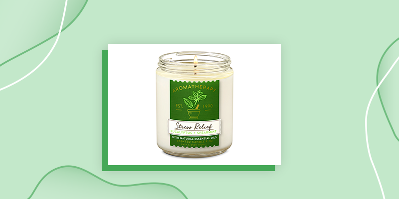 Aromatherapy Stress Relief Candle