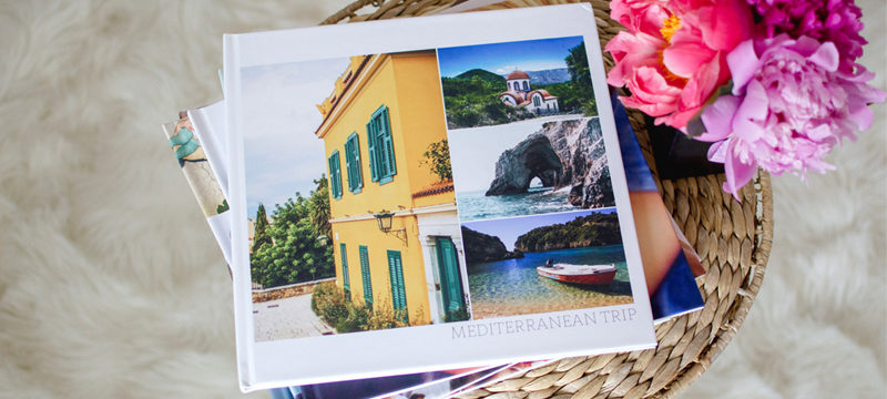 how to make a travel photo album with pictures