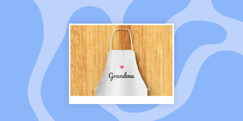 A Personalized Baking Apron