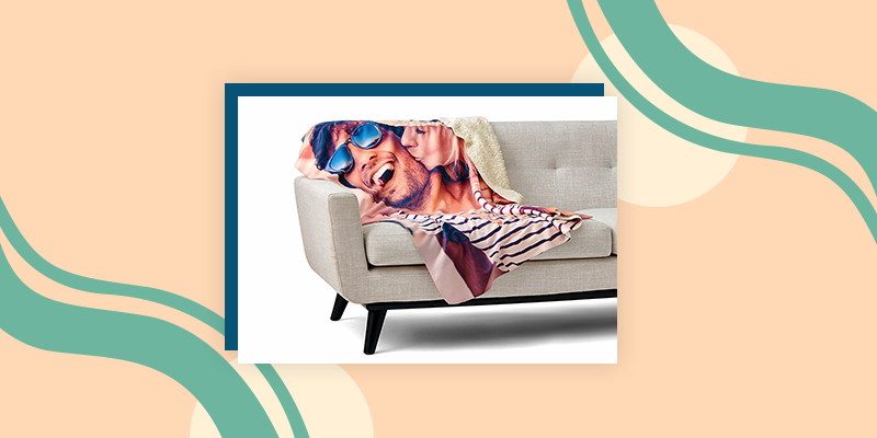 Collage.com Custom Photo Blanket
