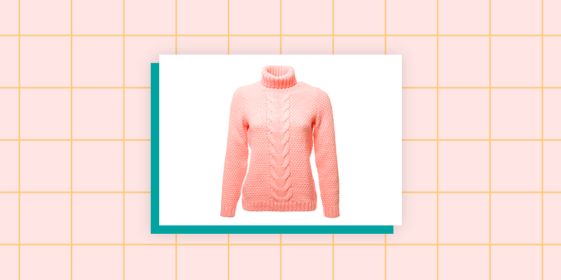A Bulky Cashmere Sweater