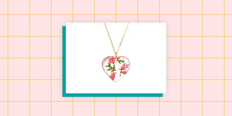Beautiful Birth Flower Necklace