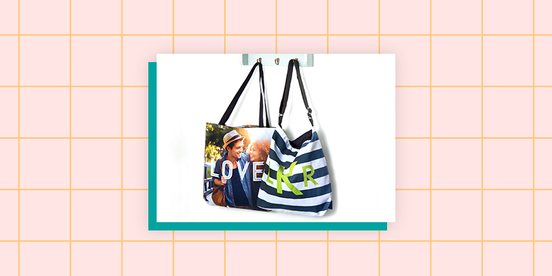 Collage.com Custom Photo Tote Bag