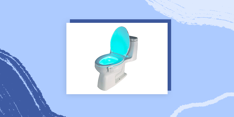 Colorful Toilet Light