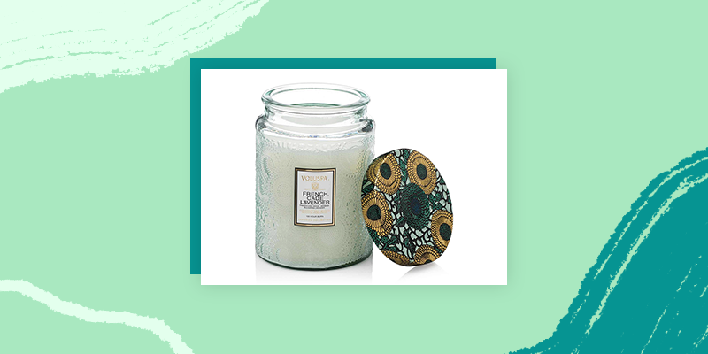 French Lavender and Cade Candle