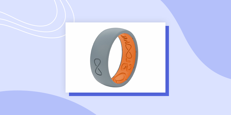 Groove Silicone Ring